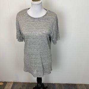 Rag & Bone Soft Gray Pocket Short Sleeve T shirt
